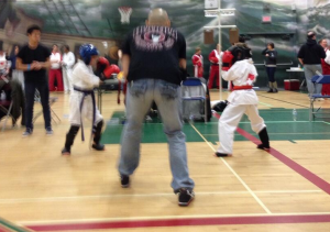 bc open 2013 gold medal point sparring match