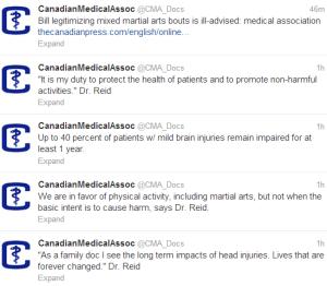 CMA Bill S 209 Tweet Stream