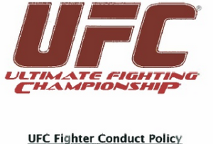UFC Fighter Conduct Policy Image