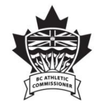 BC Athletic Commissioner Logo