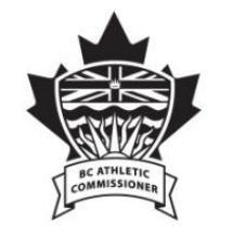 BC Athletic Commissioner Logo