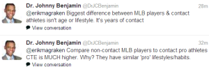 further comments from Dr Benjamin