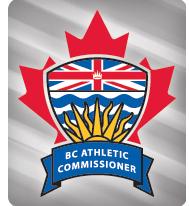 bc athletic commissioner colour logo