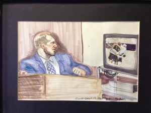 McSorely Brashear Criminal Trial Courtrooom Sketch