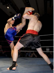 thai boxing image