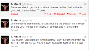 TJ GRant Tweets