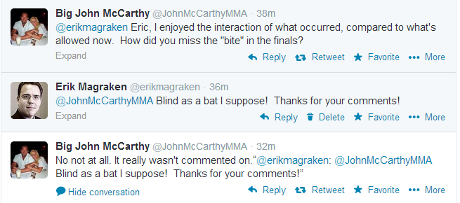 John McCarthy Tweets re Article