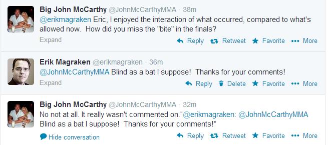 John McCarthy Tweets re Article