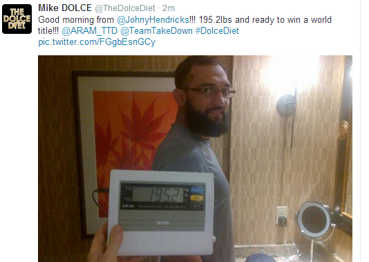Johny Hendricks Dolce Photo 195 lbs