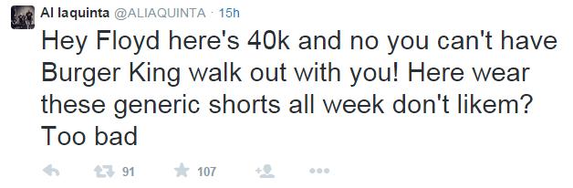 Al Iaquinta Tweet Reebok UFC Deal