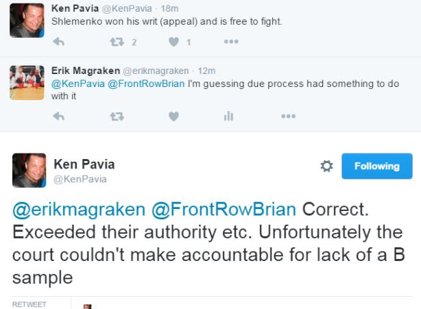 Ken Pavia Tweets