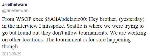 Helwanti Tweet Re Elimination Tournament