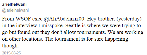 Helwanti Tweet Re Elimination Tournament