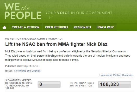 Nick Diaz Screenshot