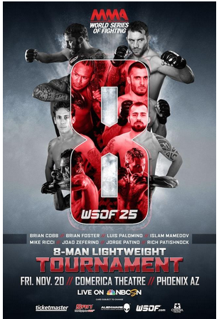 WSOF Tournament Poster