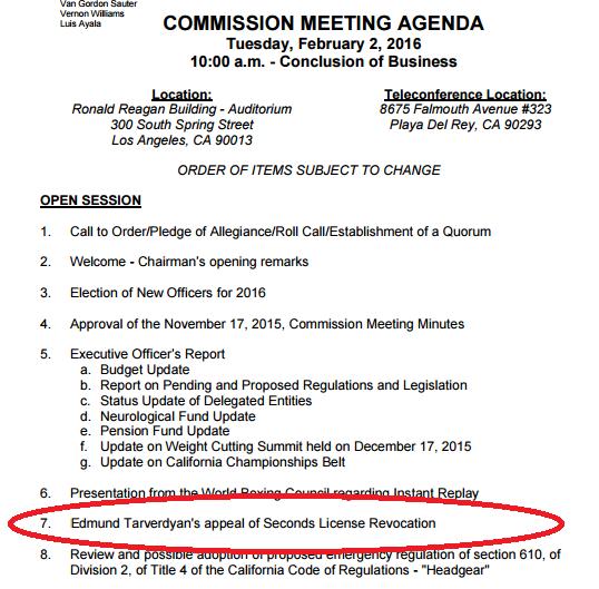 CSAC Agenda