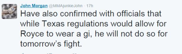 John Morgan Tweet