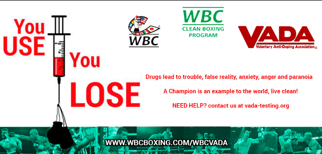 WBC VADA Clean Boxing Program Logo