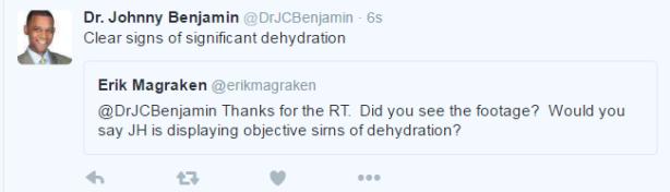 Dr B Tweet re Hendricks